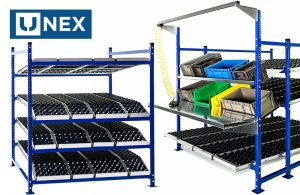 UNEX parts storage and picking systems